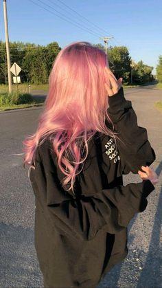 Hair Dye Colors, Cool Hair Color, Pastel Hair Colors, Unique Hair Color, Hair Color Ideas, Cute Hair Colors, Hair Color Pink, Hair Color For Black Hair, Light Pink Hair