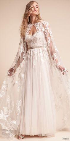 6105dcd4c6b bhldn fall 2017 americana bridal floor length lace sheer wedding cape  (anastasia) mv -