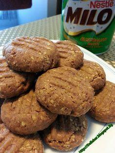 Milo Nestum Condensed Milk Cookie!