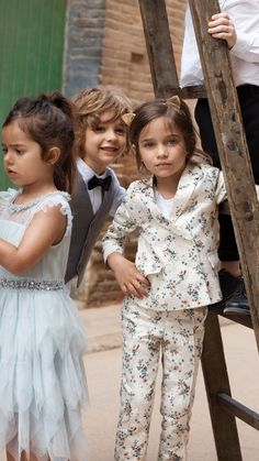 fe6810a6e109 Dazzling looks to dress up your little ones!