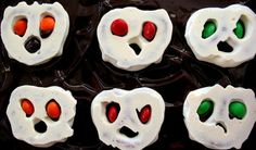 Quick Ghoulish Brownies Recipe - great for school Halloween treat!