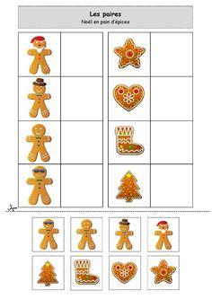 Chez Nounou Lolo 88: Les paires : Noël en pain d'épices