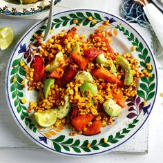 http://www.womanandhome.com/recipes/536345/sweet-potato-and-sweetcorn-salad