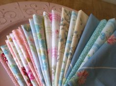 Wedding Cloth Napkins - Shabby Chic, 17 inch, Set of 100, by CHOW with ME by CHOWwithMe on Etsy
