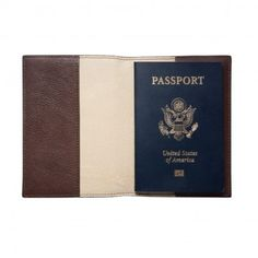 Leather passport cover for the man who loves to travel in your life