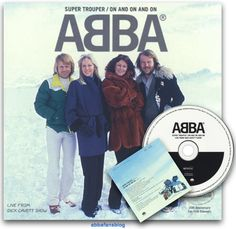 """ABBA Fans Blog: Abba """"Super Trouper"""" / """"On And On And On"""" CD #Abba #Agnetha #Frida http://abbafansblog.blogspot.co.uk/2016/07/abba-super-trouper-on-and-on-and-on-cd.html"""