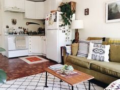 20 Small, Black and White Kitchens That Prove This Classic Combo Is Always In Style