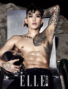 Jay Park - Elle Magazine November Issue '14