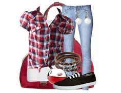 Skater Girl Outfits | Skatergirl - Freizeitoutfit - stylefruits.de