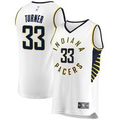 96ebb28d Myles Turner Indiana Pacers Fanatics Branded Fast Break Replica Jersey -  Association Edition - White, Size: Large