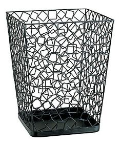 @Overstock - Keep your office clean and tidy with this unique trash can Wire waste basket features a space-efficient modern design Modern square design to match your office decorhttp://www.overstock.com/Office-Supplies/Square-Wire-Wastebasket/2965073/product.html?CID=214117 $22.98
