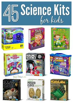 Do you have a little scientist in your family? These kits make great gifts!