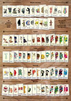 Pictoplasma tarot card set- Pictarot
