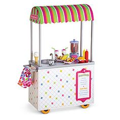American Girl® Furniture: Campus Snack Cart no, I seriously want this!