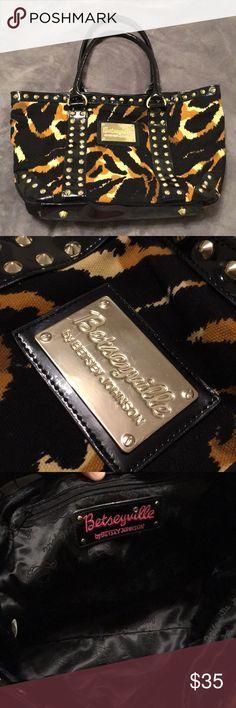 I just added this listing on Poshmark: Betseyville by Betsey Johnson Tiger Print Purse. #shopmycloset #poshmark #fashion #shopping #style #forsale #Betsey Johnson #Handbags