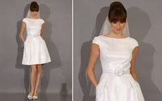 Resultado de imagem para vestido de noiva simples