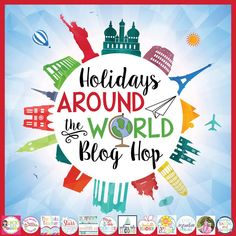 Are you looking for a starting place for planning your Holidays Around the World unit?! START HERE! Freebies from each of the 12 countries, book recommendations, and so much more!