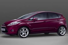 Ford fiesta I want this color!!! :)
