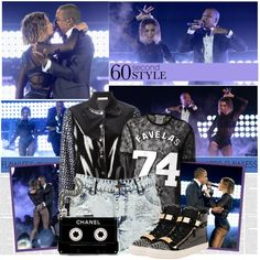 60-Second Style: Beyonce and Jay-Z Concert by bklana on Polyvore featuring moda, Givenchy, Boohoo, Giuseppe Zanotti, Sacai Luck, women's clothing, women's fashion, women, female and woman