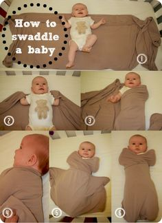 How to Swaddle a baby...