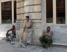 Hombres trabajando (Vota por esta obra en http://observarte.net)