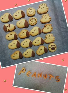KITCHEN FUN: First Peanuts comic strip originated in October of 1950 Snoopy cookies