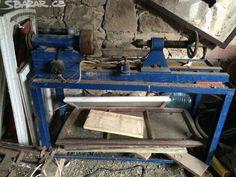 Prodám soustruh na dřevo, zřejmě kutilská výroba - obrázek číslo 1
