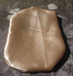 Stoma Cover Liquid Satin Gold Gold Material, Reusable Tote Bags, Satin, Cover, Fashion, Moda, Fashion Styles, Elastic Satin, Fashion Illustrations