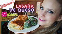 Lasaña Italiana con queso ♥ Recetas Día de la Madre