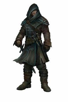 m Ranger Vampire Hunter Leather Cloak Sword Spikes 14thlvl