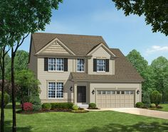 TBB Montego @ Brookside #15052895 - The Montego is a 4 bedroom (plus a loft), 2.5 bath, 1.5 story with 2,691 square feet of living space.