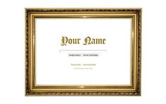 Diploma Frame Theme from ShinySearch