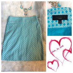 """Talbots Skirt 2P Gorgeous spring colors skirt.  Great for any occasion.  Measures 27"""" at waist and is 21"""" long.  Worn a couple of times looks new.  Back hidden zipper and hook closure! Talbots Skirts"""