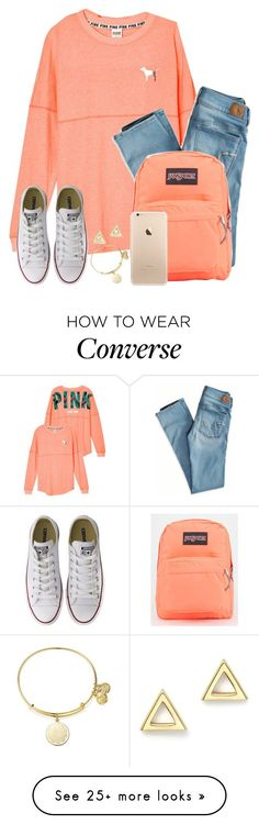 """How Did I Get 200+ Likes On A Set??? What Even!! Tysm!!"" by twaayy on Polyvore featuring American Eagle Outfitters, Converse, JanSport, Alex and Ani and Mateo"