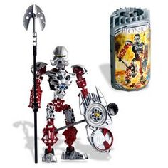 LEGO Bionicle: Toa Norik by LEGO. $149.89. Long before the coming of the Toa Metru, Toa Norik was one of the most heroic and wise leaders the universe had ever seen. Figure features dual spinners, a special spear, and a shield that stores one spinner while launching the other up to 50 feet.