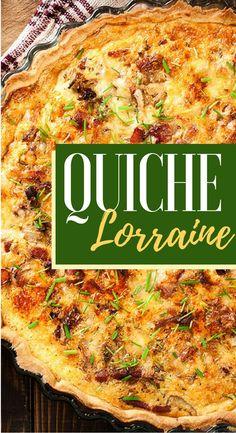 Discover recipes, home ideas, style inspiration and other ideas to try. Keto Quiche, Quiche Recipes, Tart Recipes, Casserole Recipes, Comida Tex Mex, Kitchen Recipes, Cooking Recipes, Quiche Lorraine Recipe, Quiches