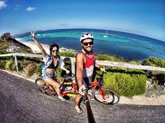 Coastal cycling #RottnestIsland #LittleBIGAdventures #GoPro by hanstegjeu http://ift.tt/1L5GqLp