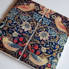 Items similar to Hearth & Home stone coasters - birds and floral folk art - William Morris on Etsy