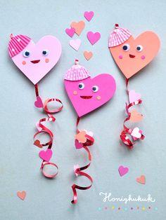 Valentine's Day gift: Little heart dragon // DIY idea honey kukuk – Holiday Valentine Crafts For Kids, Spring Crafts For Kids, Valentine Day Gifts, Chocolate Mirror Glaze, Chocolate Mud Cake, Easy Knitting Patterns, Valentine's Day Diy, Gifts For Him, Origami