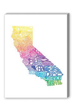 California Spring Art Canvas on HauteLook