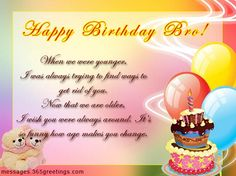 birthday wishes for brother.The top 20 Ideas About Brother Birthday Wishes