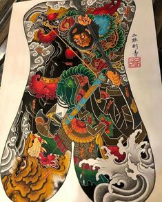 Japanese Tattoo Designs, Japanese Design, Japanese Art, Back Piece Tattoo, Back Tattoo, G Tattoo, Asian Tattoos, Samurai Tattoo, World Tattoo