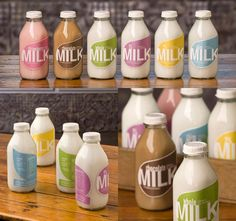 Creative Moolicious Milk Packaging by Anna Stout