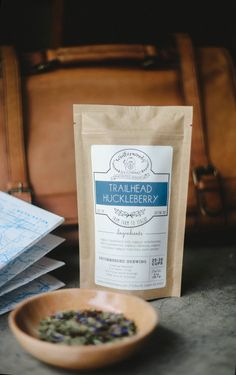 Organic Loose Leaf Tea - Trailhead Huckleberry