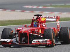 Alonso Rebut Kemenangan di Rumah Sendiri