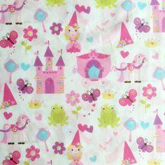 New Hillcrest Fine Linens Princess Children's Twin Sheet Set