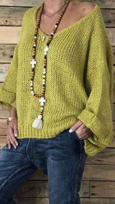 Knitwear Fashion To Wear Asap sweaters knittedsweaters hoodedplain longsleeve Mode Crochet, Knit Crochet, Modest Fashion, Fashion Outfits, Womens Fashion, Knitwear Fashion, Look Fashion, Fashion Wear, Latest Fashion Trends