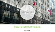 Bloomingdale's Is Officially Looking for Space in Center City Philadelphia #philadelphia #philly Read more at http://www.phillymag.com/?pm-blogs=property/page/5/#q2WxvdZUK7xjzohs.99