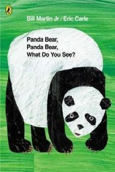 Panda Bear Panda Bear What Do You See? We love this treasure of a book by Bill Martin Jr with illustrations from Eric Carle. Eric Carle, Macaroni Penguin, Bill Martin, Mdf Frame, What Do You See, Music Games, Kids Music, Children's Literature, Wall Canvas
