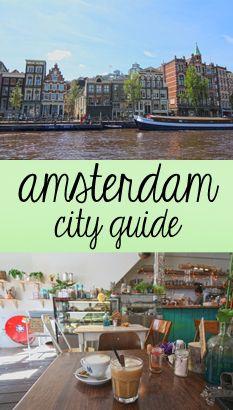 Veggie & City Guide für Amsterdam - die besten Tipps für Vegetarier und Veganer, Sightseeing und Strandbars